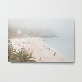 Beach View Metal Print