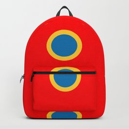 Dotted in Red Backpack