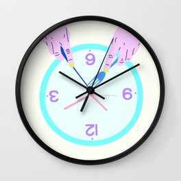 THE TIME EATER Wall Clock