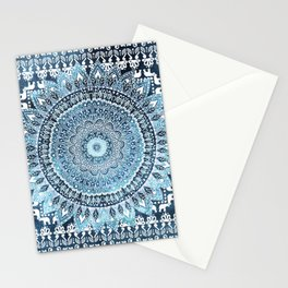 MANDALIKA INDIGO Stationery Cards