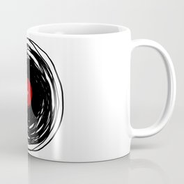 Spinning within with a vinyl record... Coffee Mug