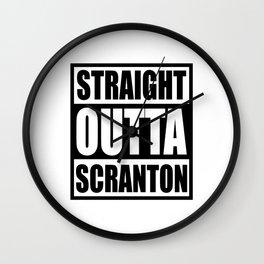 scranton Wall Clock
