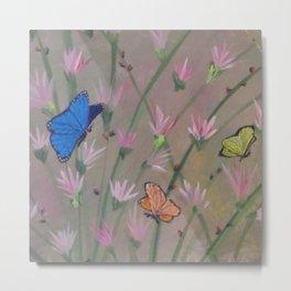 """Butterflies Are Free"" Metal Print"