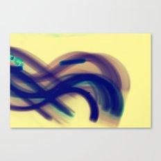 Movin' Canvas Print