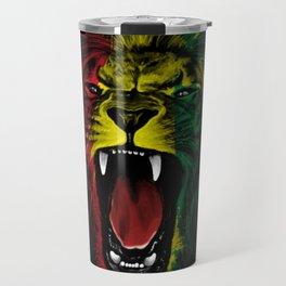 Rasta Roar Travel Mug