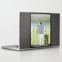 military Laptop & iPad Skins featuring Military Homecoming by Aquamarine Studio