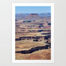 Green River Overlook Art Print