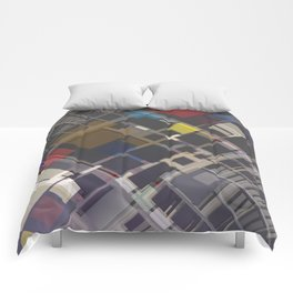 Abstract Composition 70 Comforters