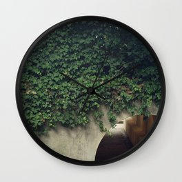 Ivy Tunnels Wall Clock