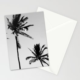 cocotier noir Stationery Cards