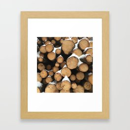 Firewood of the Future Framed Art Print