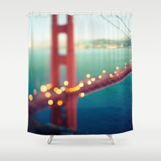 Meet Me In San Francisco Shower Curtain