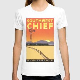 Vintage poster - Southwest Chief T-shirt