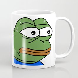 MonkaS FeelsBadMan Coffee Mug