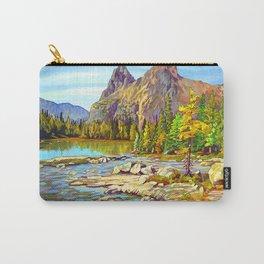 Lake O'Hara Holiday by Amanda Martinson Carry-All Pouch