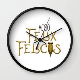 Accio Felix Felicis Wall Clock