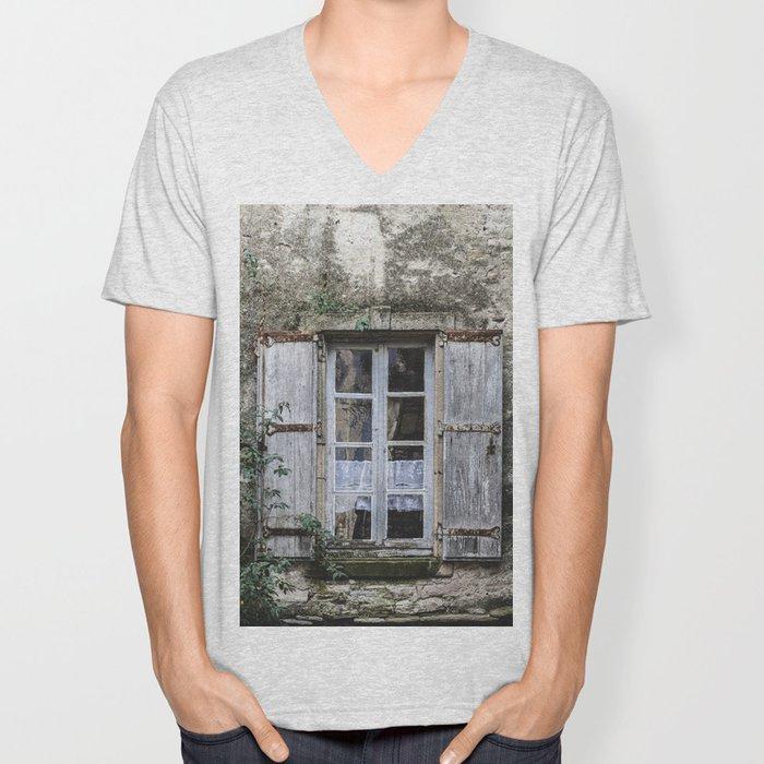 Old Window Unisex V-Neck