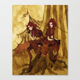 The Conjoined Twins Canvas Print