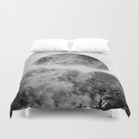 forrest Duvet Covers featuring Circle Forrest by GeoDesigned