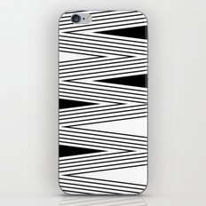 Black and white abstract pattern . 5 iPhone Skin
