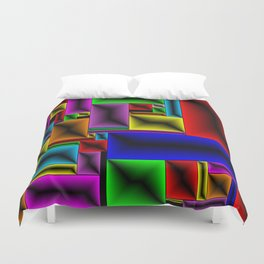 ColorBlox - Hammered Duvet Cover