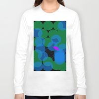 cocktail Long Sleeve T-shirts featuring Peach Cocktail by mirelajoja
