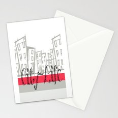 City Life {The Boring Afternoon Design Series} Stationery Cards