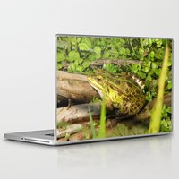 frog Laptop & iPad Skins featuring frog by giol's