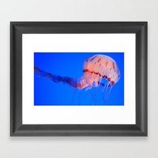 jelly rising Framed Art Print