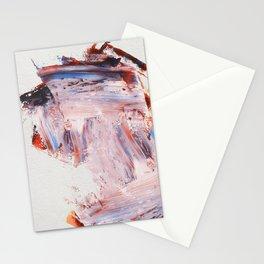 Palette Knife Strokes Stationery Cards
