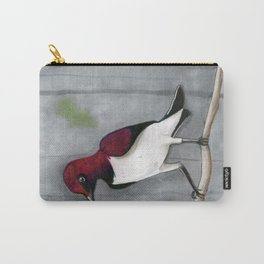 Amethyst Starling Realistic Drawing Carry-All Pouch