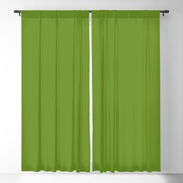 color olive drab Blackout Curtain