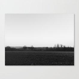 monochrome landscape Canvas Print