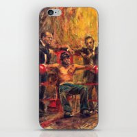 snatch iPhone & iPod Skins featuring Brad Pitt in Snatch by guy ritchie by Miquel Cazanya