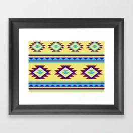 Azteca Framed Art Print