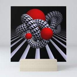 opart imaginary -9- Mini Art Print