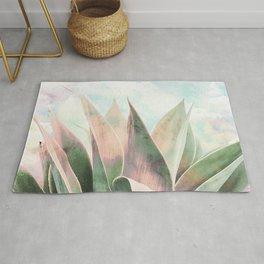 Landscape plant paint Rug