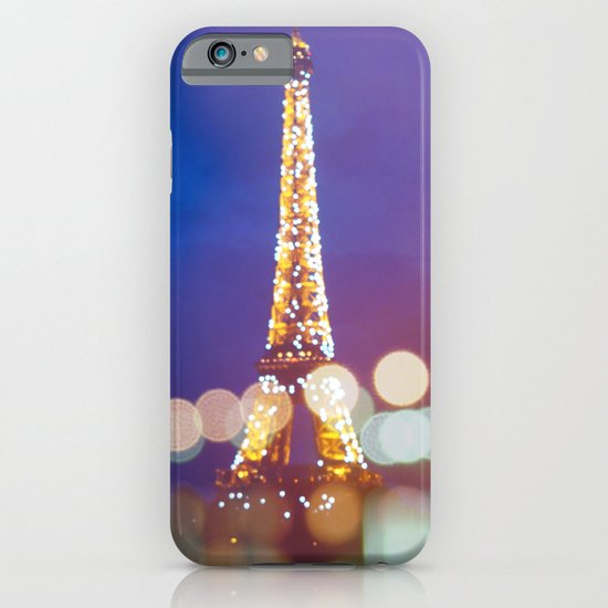 Eiffel tower by night iPhone & iPod Case