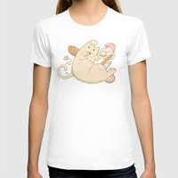 chef T-shirts featuring Chef Cat by gerbie