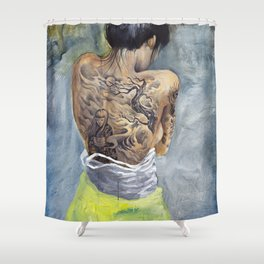 Winds of Chang'e Shower Curtain