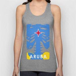 ARUBA X-RAYS BLK Unisex Tank Top