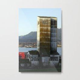 factory abandonment Metal Print