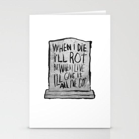 I'M ALIVE Stationery Cards