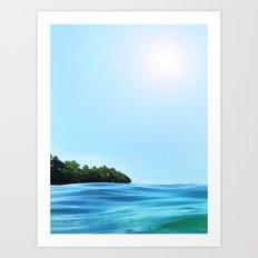 The Happy Isle Art Print