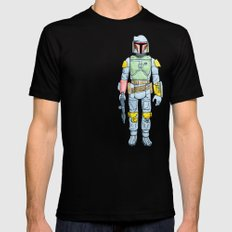 My Favorite Toy - Boba Fett Mens Fitted Tee Black MEDIUM