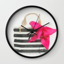 French Outing  Wall Clock