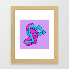 Come here you Framed Art Print