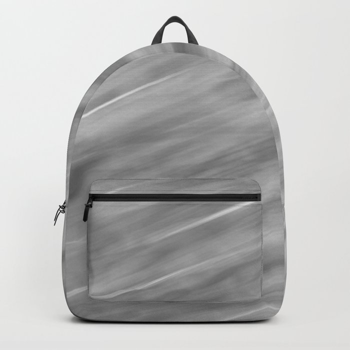 Abstract black and gray background . Backpack