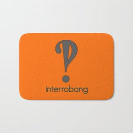 Interrobang, Serif Bath Mat