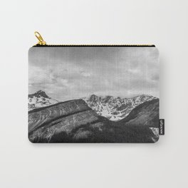 Mountain Landscape Black and White Photography Minimalism Nature Travel Carry-All Pouch